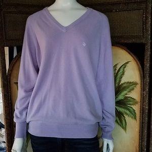 Dior Lavender soft lightwt sweater